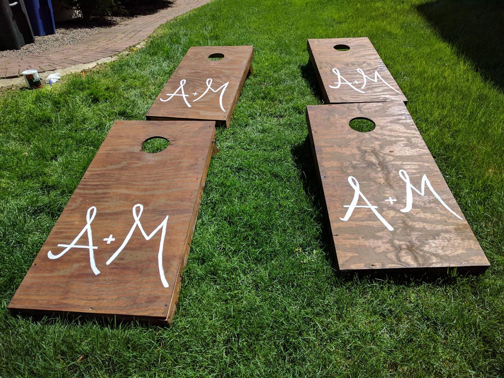 Creating DIY Cornhole